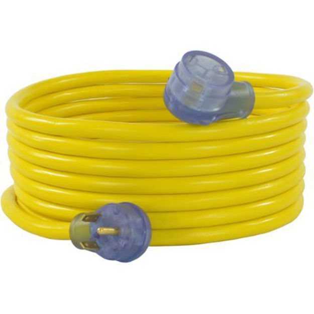 Picture of 30A RV Extension Cords, Yellow