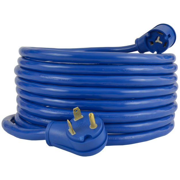 Picture of 30A RV Extension Cord, Blue