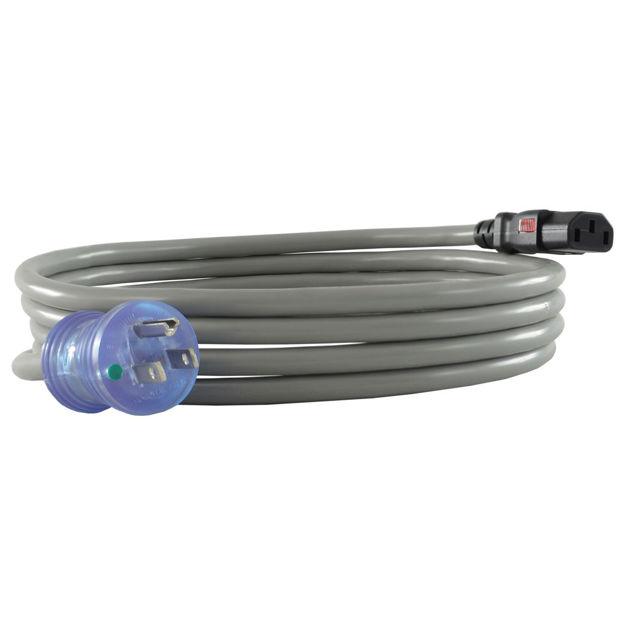 13 Amp 5-15P to Push Lock C13 Hospital Grade Power Cords