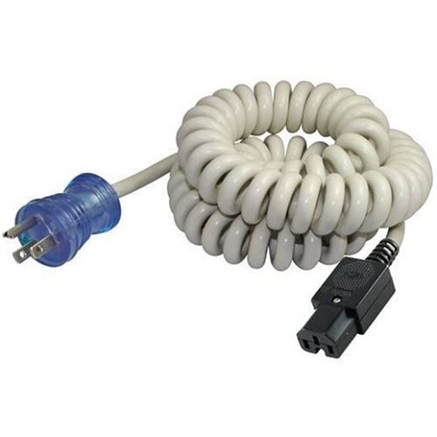 Picture of 5-15P to C15 Coiled Hospital Cord