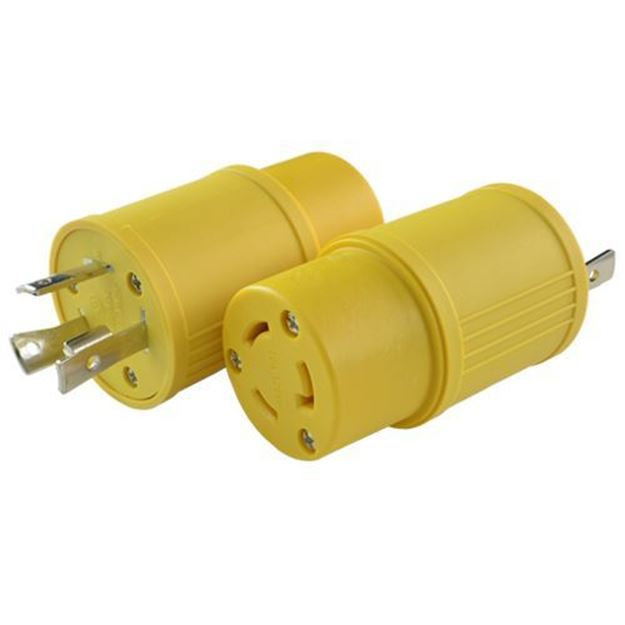 Picture of L5-30P to L5-20R Plug Adapter
