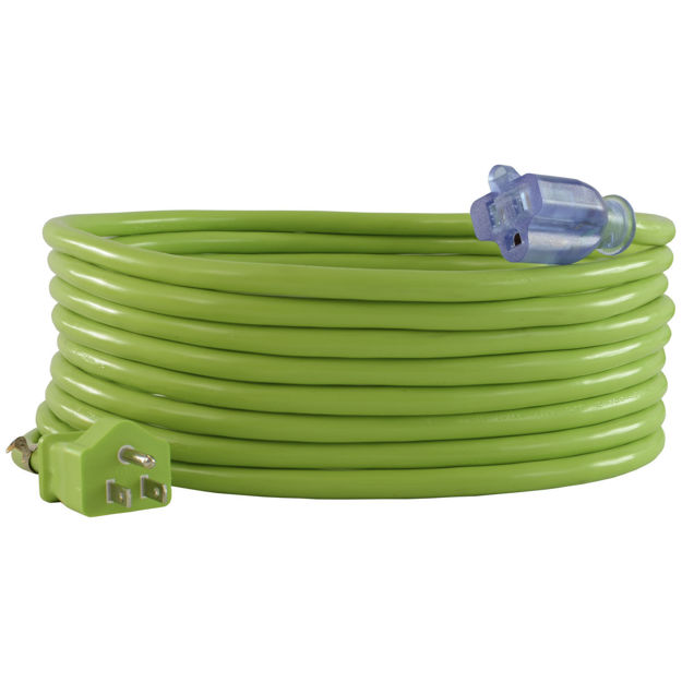 5-15 12/3 Extension Cords, Green