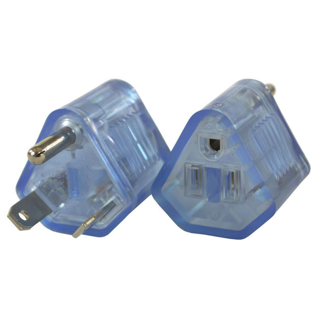 Picture of TT-30P to 5-15R Plug Adapter